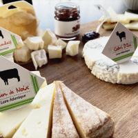 Selection de fromages de la région